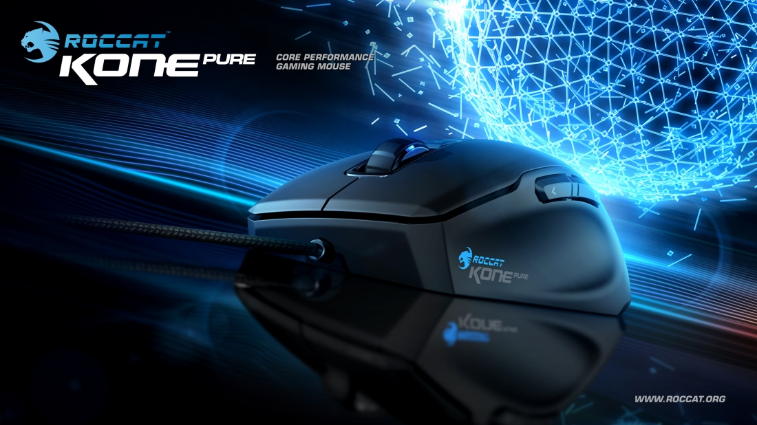 Roccat Kone Pure Gaming Mouse product poster