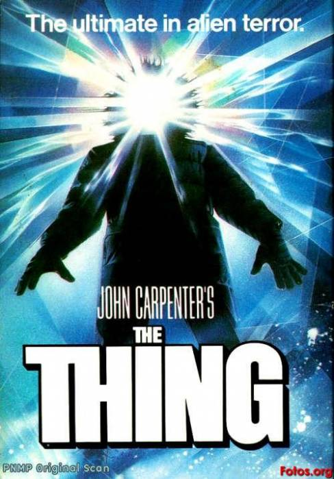 The Thing film poster