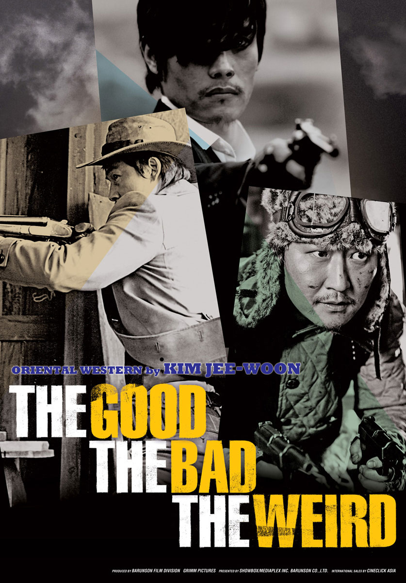 The Good The Bad The Weird film poster korean