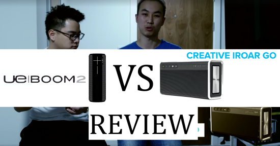 UE Boom 2 vs Creative iRoar Go Review Cover Image