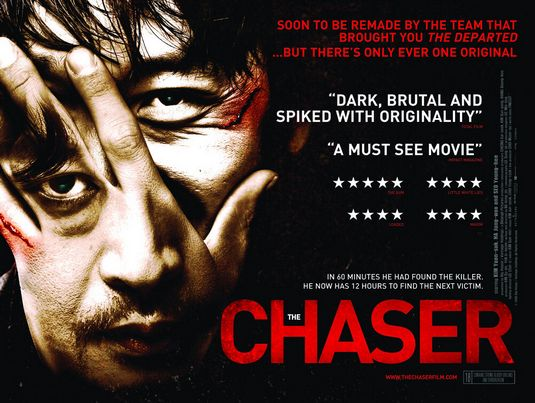 The Chaser Korean film poster