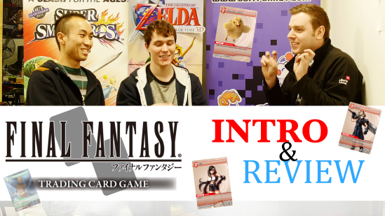 Final Fantasy TCG Review Display picture for Youtube