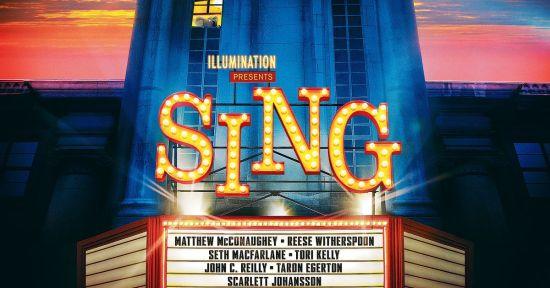 Sing film poster