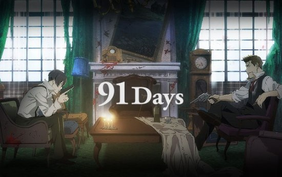 91 Days anime poster