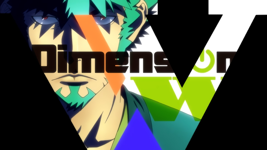 Dimension W Anime poster