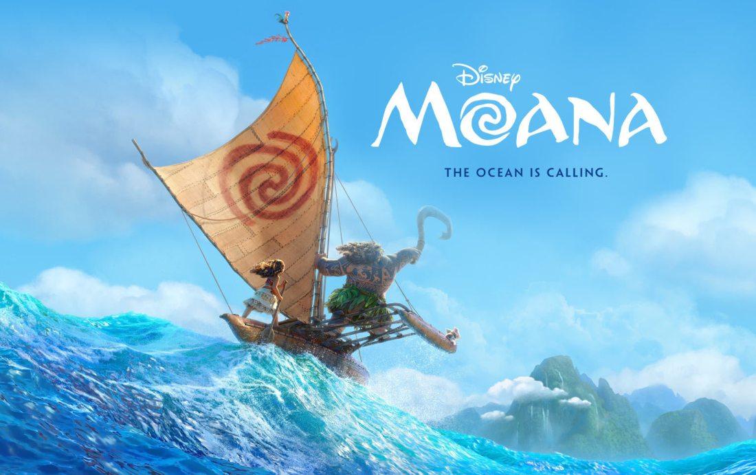 Moana film poster