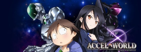 Accel World anime poster