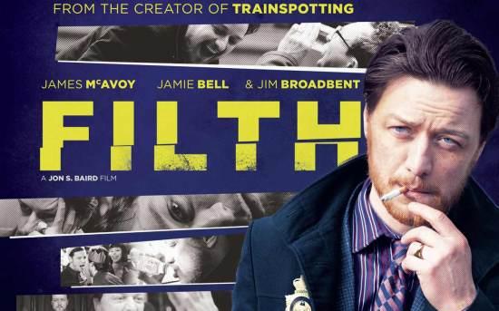 Filth film poster