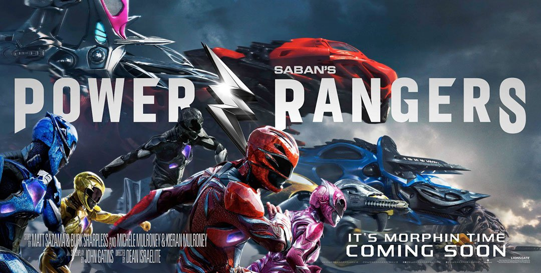 Power Rangers 2017 film poster