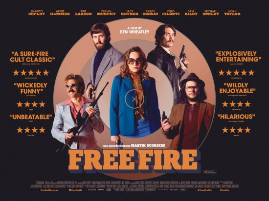 Free Fire film poster