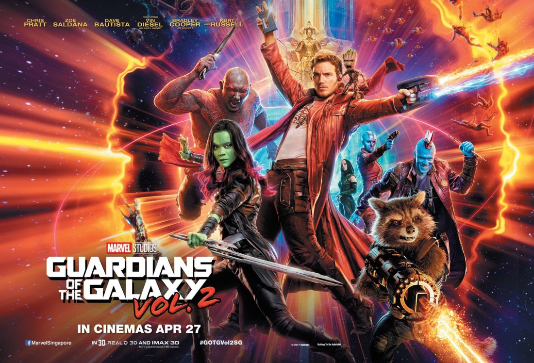 Guardians of the Galaxy Vol 2 film poster