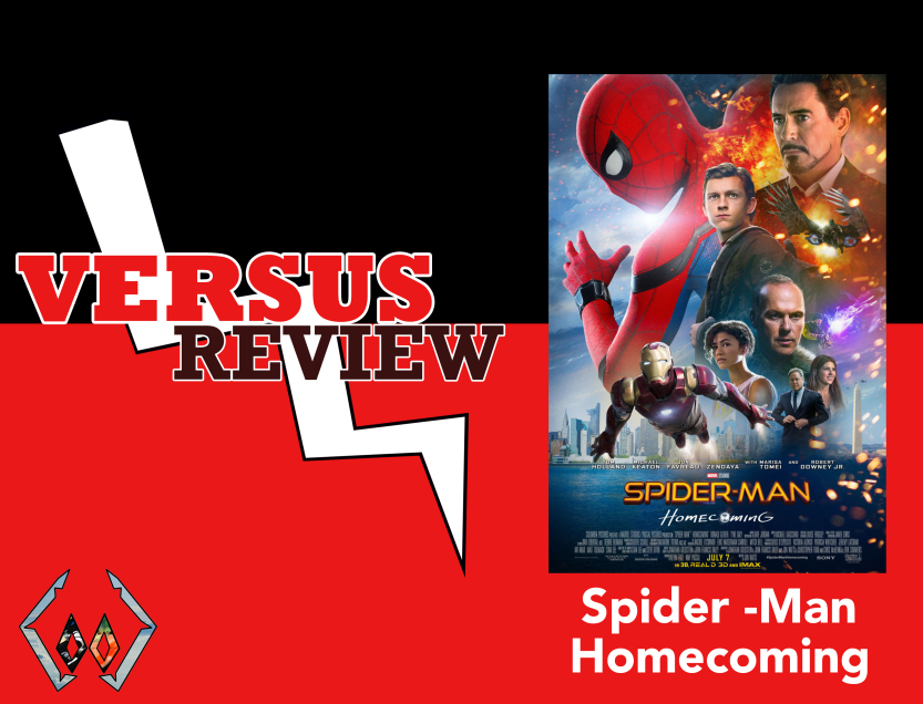 Versus Review Spiderman Homecoming Post Cover Image