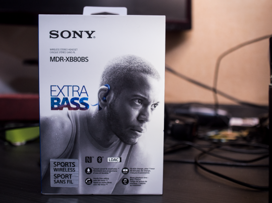 Sony MDR-XB80BS Packaging Box