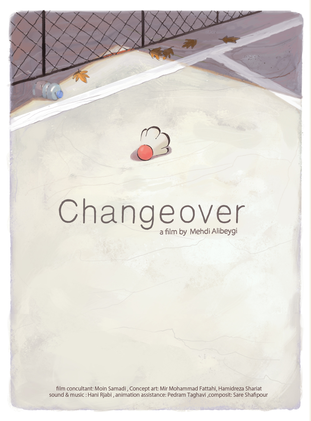 Changeover Short Animated Film Poster