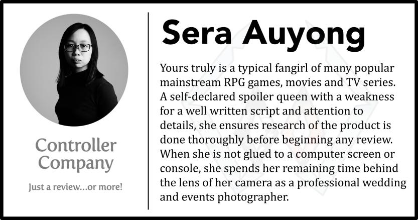 sera author bio page